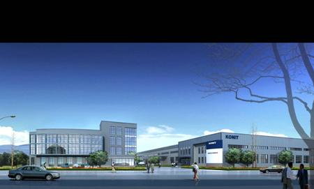 宁波科宁达厂房 - 工业建筑 - 宁波市民用建筑设计院