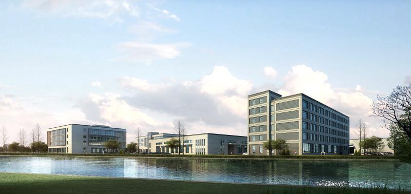 宁波大港工业城 - 工业建筑 - 宁波市民用建筑设计院