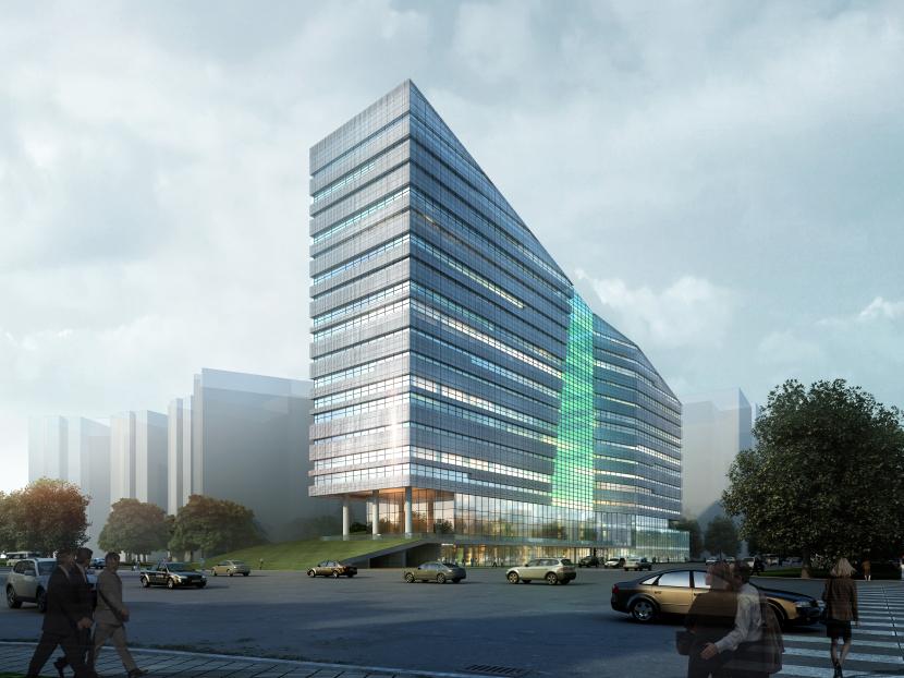 宁波软件园二期 - 公共建筑 - 宁波市民用建筑设计院